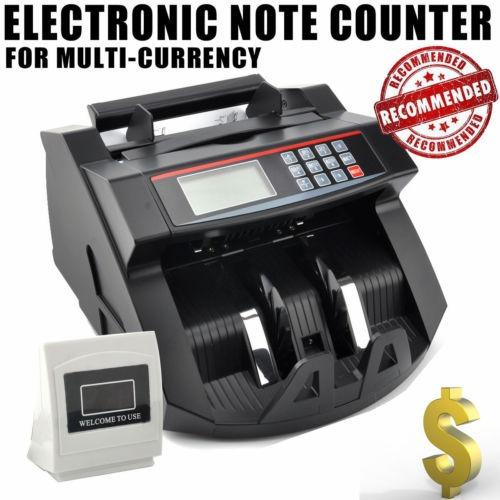 billete de banco auto dinero moneda contador detector...