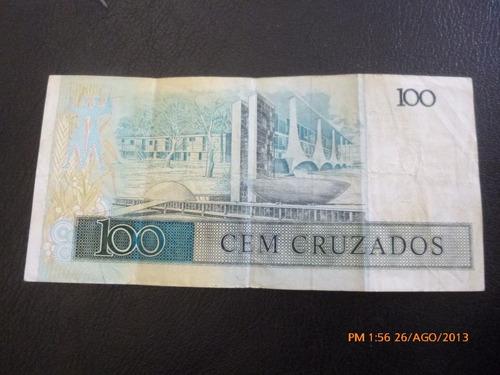 billete de brasil 100 cruzados (c10-8
