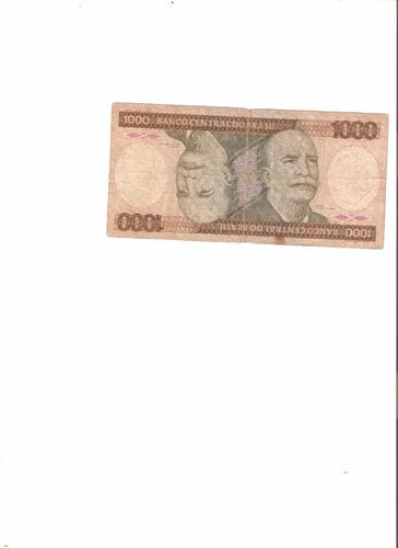 billete de brasil 1000 cruzeiros 1981