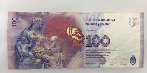 billete de cien pesos evita cinco ceros