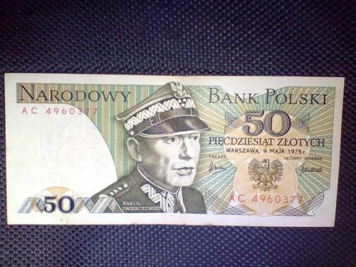 billete de colección - polonia 1975