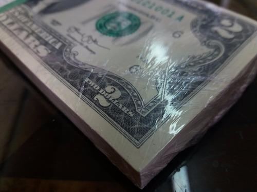 billete de dos dolares