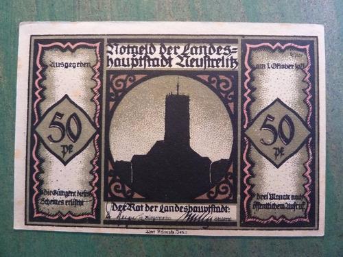 billete de emergencia - notgeld - aleman - vp