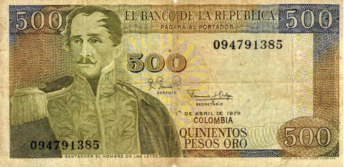 billete de las salinas