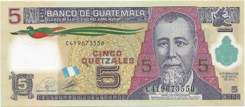 billete de polimero guatemala