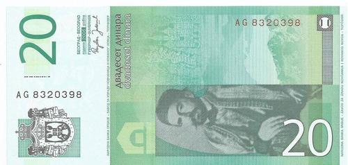 billete de serbia