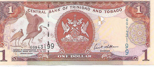 billete de trinidad y tobago