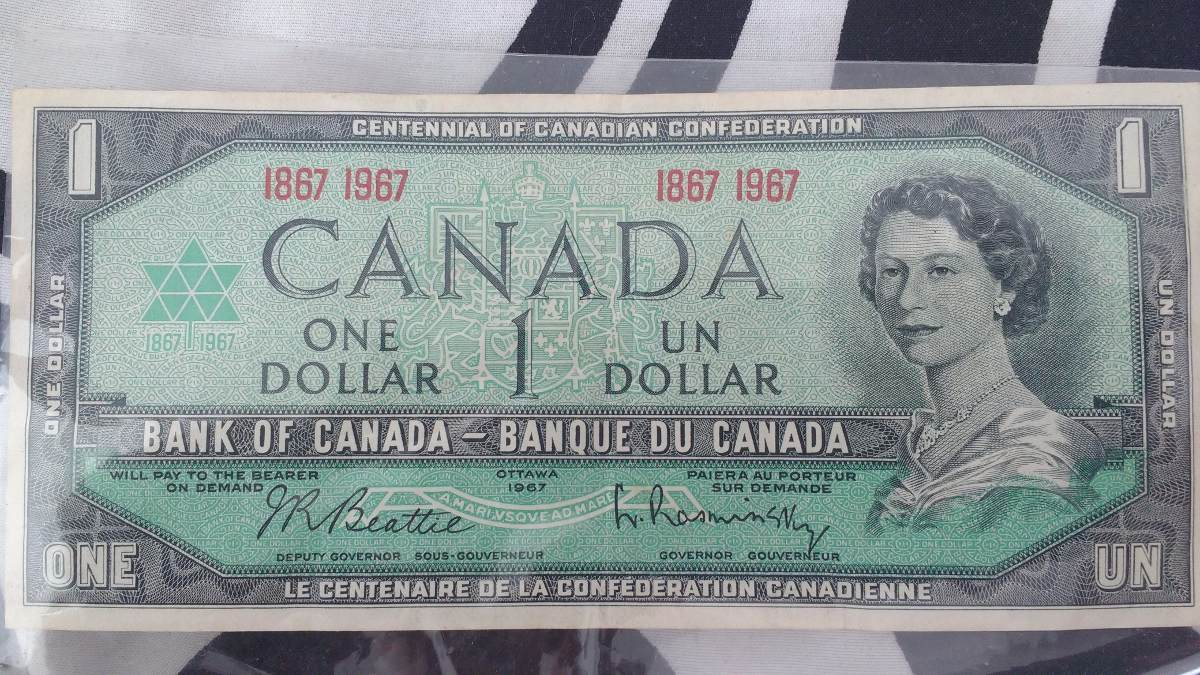 Billete De Un Dolar Cananse Cargando Zoom