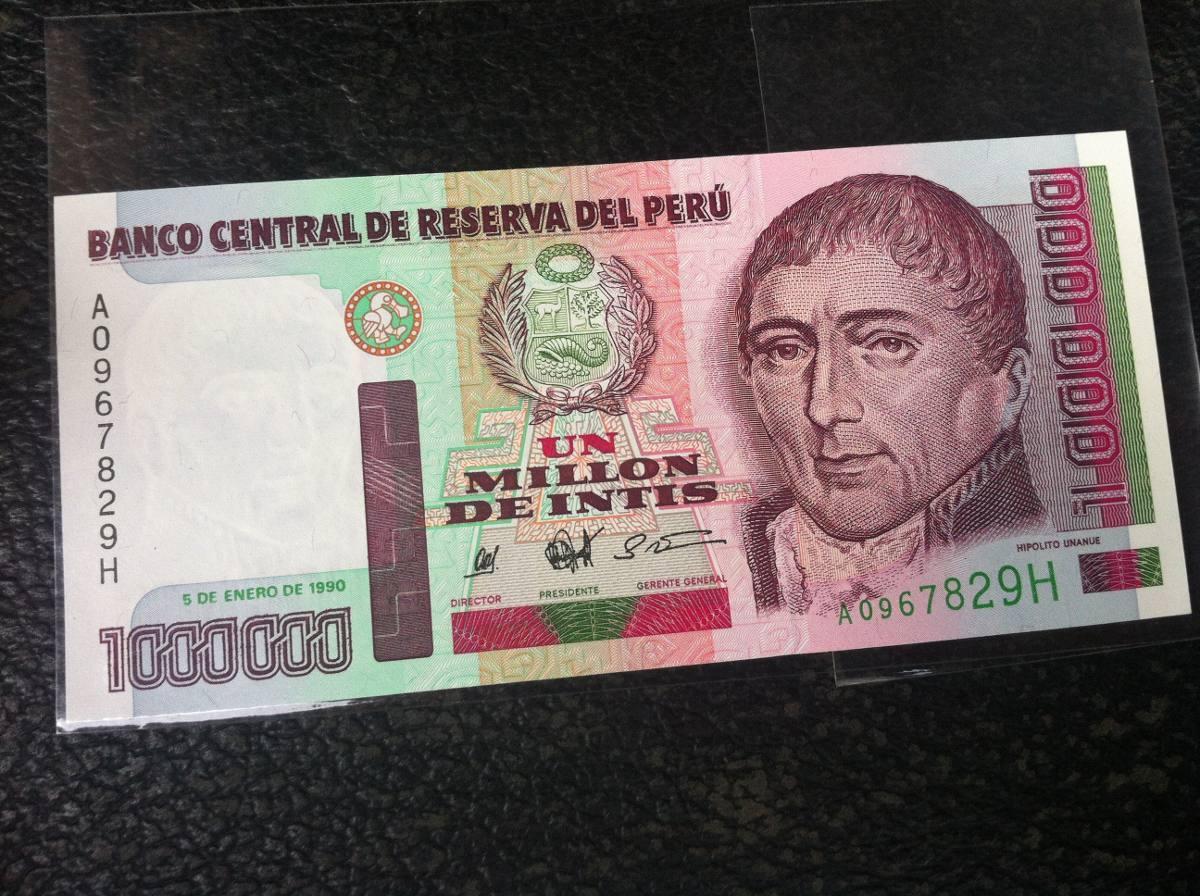 billete  de un  millon  año  1990