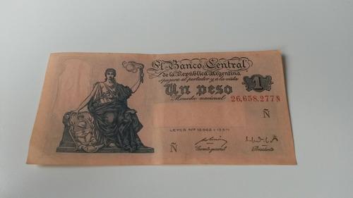 billete de un peso