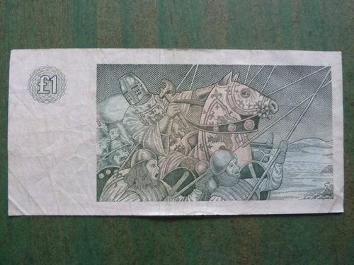 billete escocia 1 pound / libra 1985 - vp
