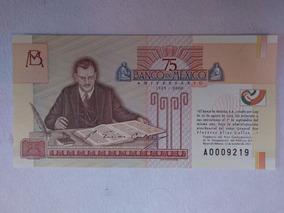 3e9e96bebb43 Billetes 75 Aniversario Banco De Mexico - Monedas y Billetes en Mercado  Libre México