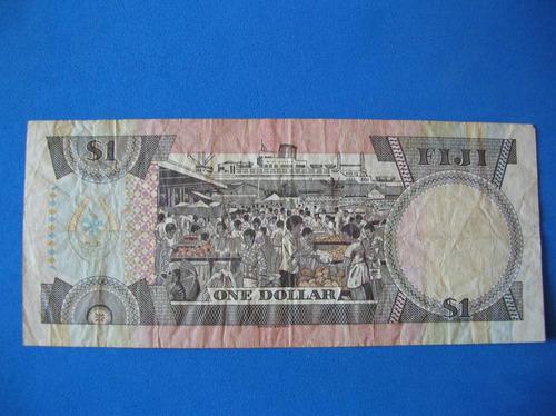 billete fiji 1 dollar colonia britanica  muy escaso
