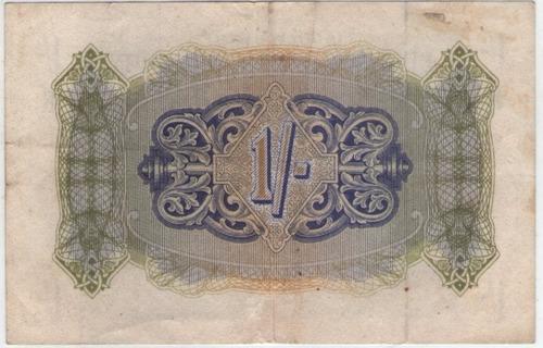 billete gran bretaña militar 1 shilling 1943 pick m2  mb+