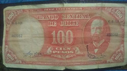 billete para coleccionistas de 100 céntimos de escudo