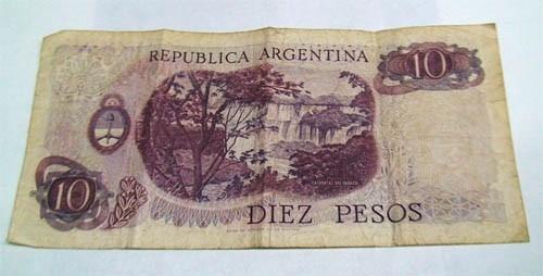 billete pesos moneda nacional,