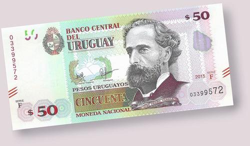 billete urug. uruguay