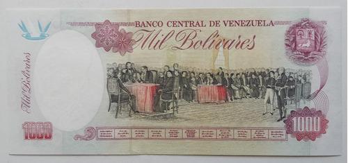 billete venezuela 1000 bolívares febrero 5 1998 l9 unc