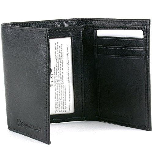 c83fdf656 Billetera De Cuero Genuino Para Hombre Alpine Swiss Trifold - $ 84.550 en  Mercado Libre
