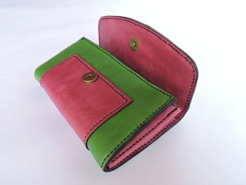 billetera artesanal de cuero