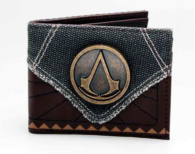 talla 40 4a398 0ddbb Billetera Assassins Creed - Cuero Pu
