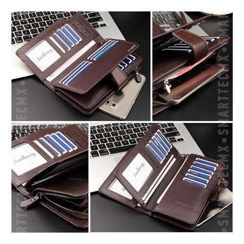 billetera baellerry original 23 compartimentos tarjetas