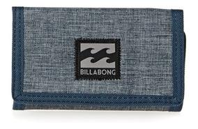 diseño atemporal d1f1c 12770 Billetera Billabong Atom Wallet Azul Hombre