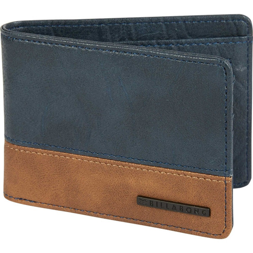 billetera billabong dimension wallet navy hombre