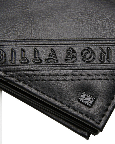 billetera billabong line up wallet black hombre