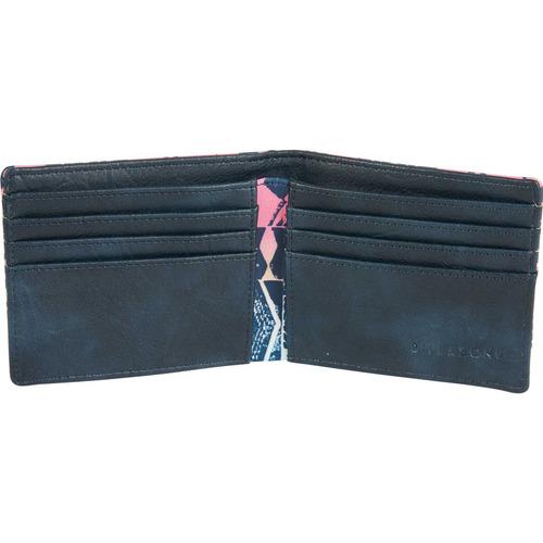 billetera billabong tides wallet multicolor hombre