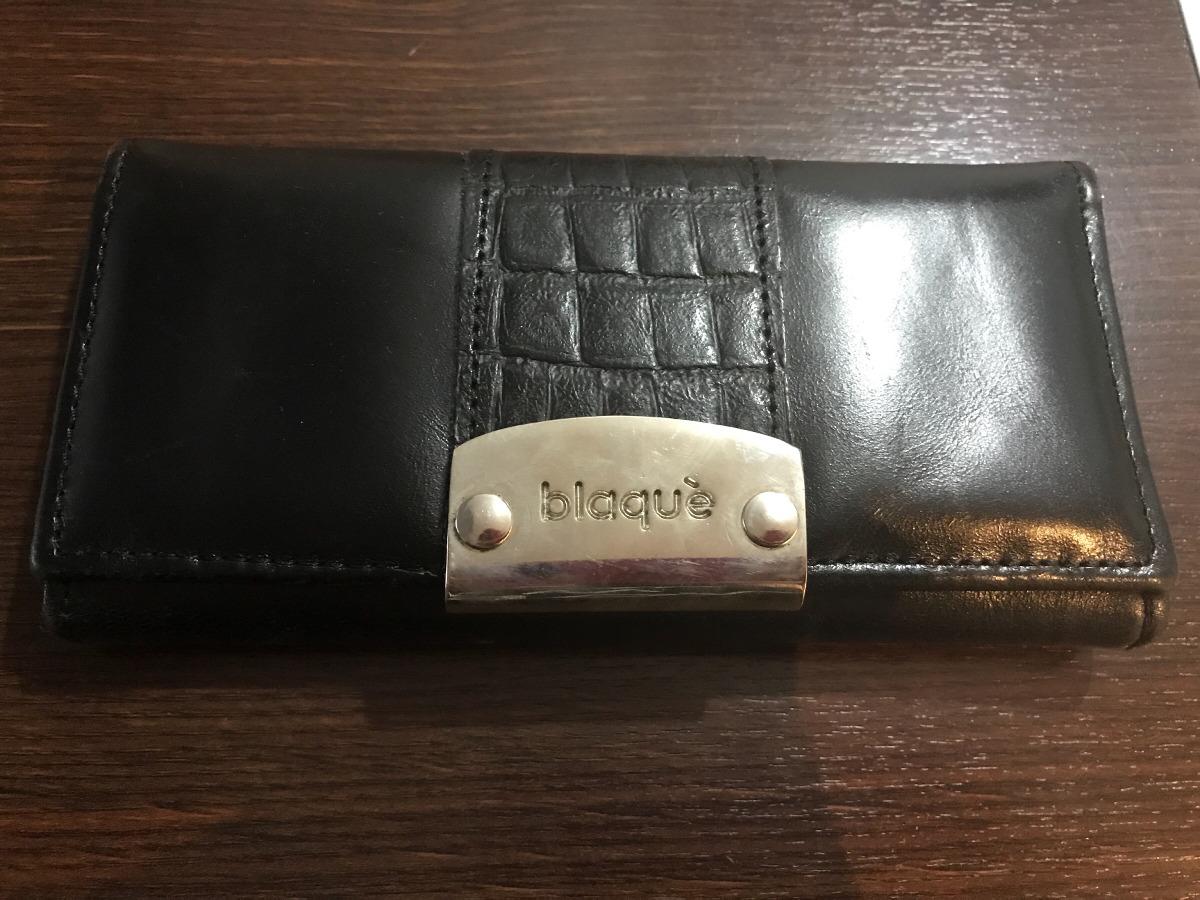 38c4d3651 Billetera Blaque De Cuero - $ 500,00 en Mercado Libre