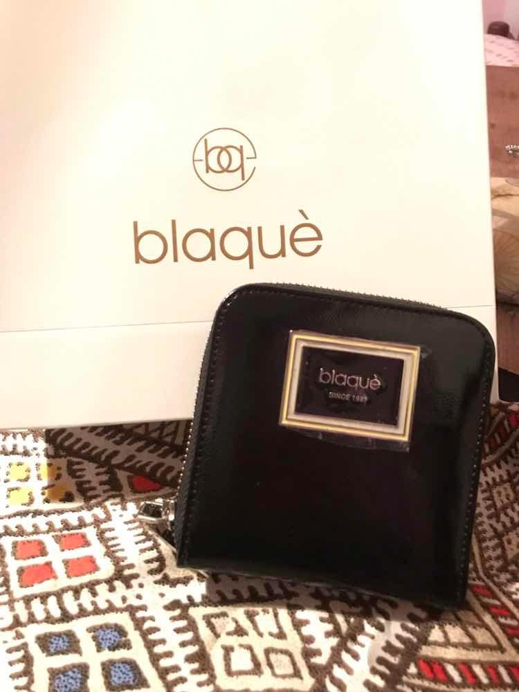 5010e7b92 Billetera Blaque De Cuero Nueva - Con Etiqueta - $ 1.100,00 en ...