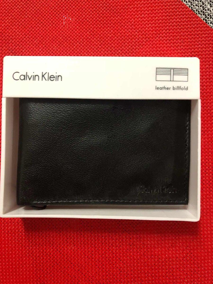 f58931ad Billetera Calvin Klein (cuero) Para Hombre - S/ 130,00 en Mercado Libre