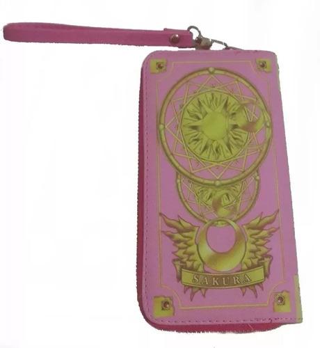 billetera cartas clow sakura card captor importado