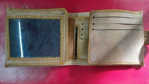 billetera cartera de hombre de cuero nueva cod6343 asch