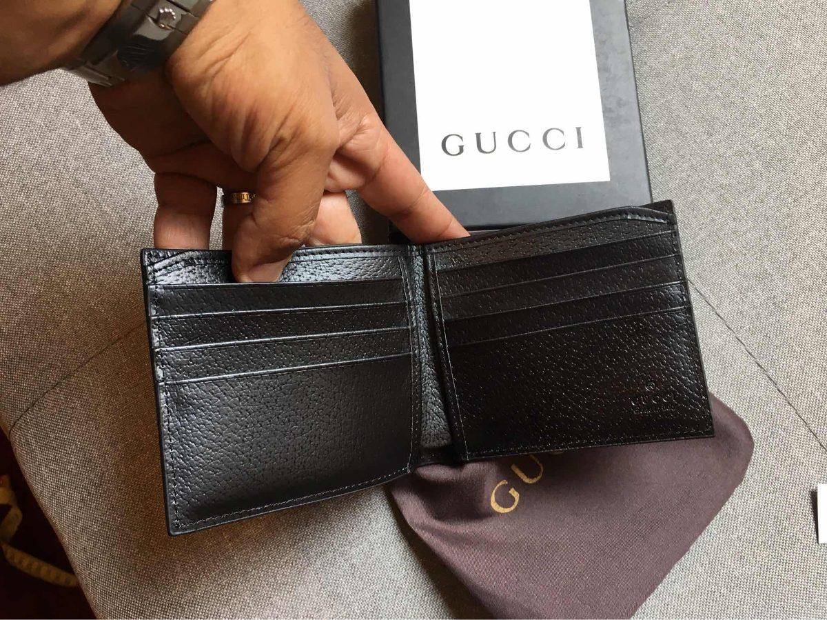cc5556f18 Billetera Cartera Estrella Abeja Gucci Caballero - $ 1,899.00 en ...