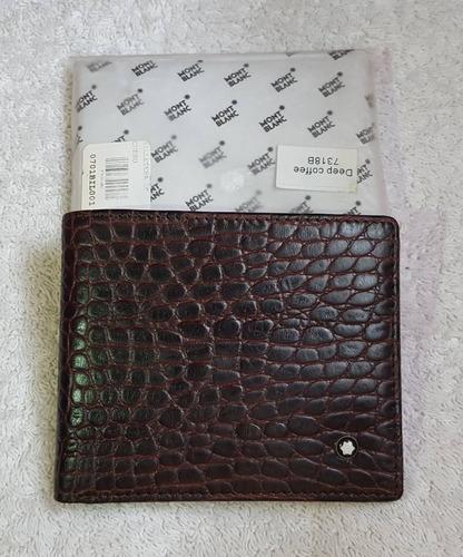 billetera cartera mont blanc excelente calidad