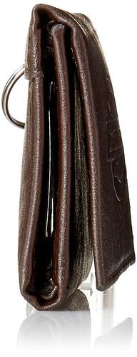 billetera con cadena triple dickies para hombre, marrón, tal