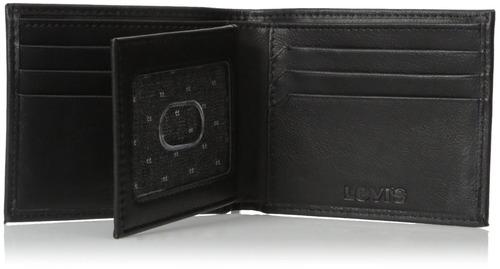 billetera con capacidad adicional batwing para hombres levi'