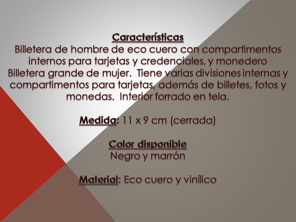 b34c3a3c1 Billetera Cuero Hombre - Mv Cueros (410) - $ 450,00 en Mercado Libre