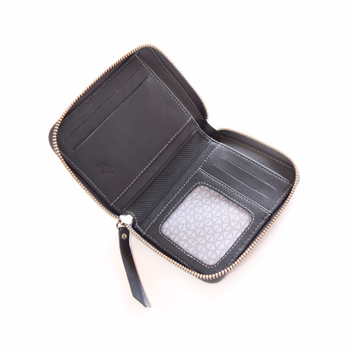 billetera dama en cuero trianon, línea degrade, dg5165-33