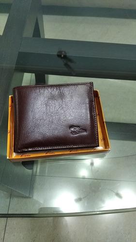 billetera de cuero cardim