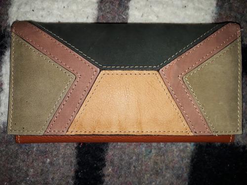 billetera de cuero jean cartier original