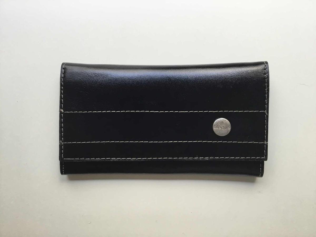 ec829be82 Billetera De Cuero Negra Blaque Nueva - $ 600,00 en Mercado Libre