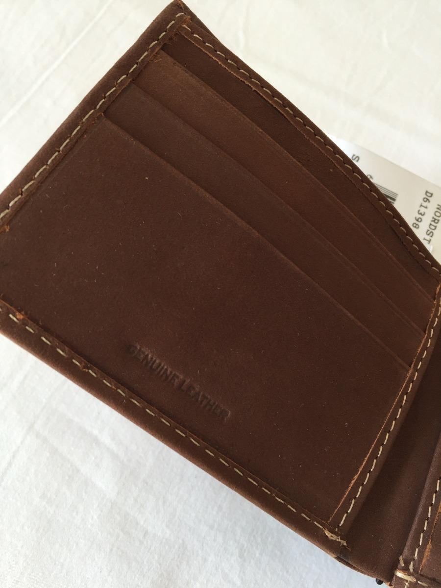 3e8b26c5e billetera de cuero timberland original nueva (fotos reales). Cargando zoom.