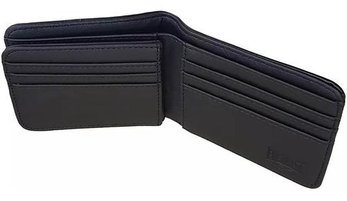 billetera de hombre con tarjetero negro o gris everlast