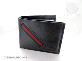 nuevo producto d15d4 adad0 Billetera De Hombre Leather Estilo Gucci Importada