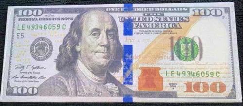 billetera de la suerte con forma de dólar