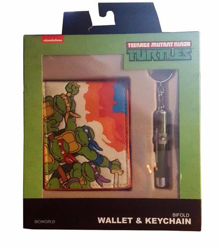 billetera de las tortugas ninjas !!! originales !!!