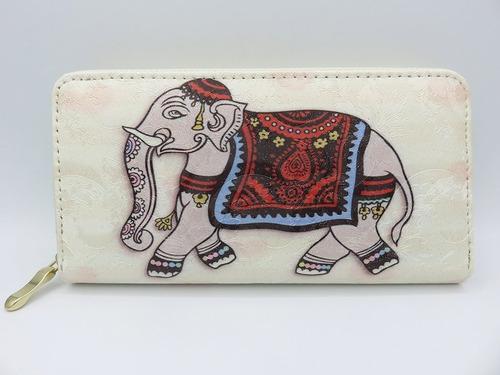 billetera elefante con cierre. envíos a todo el país.